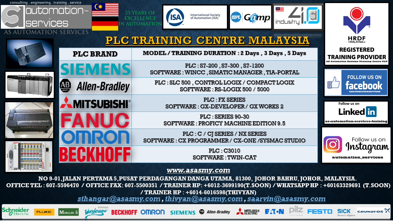 AS Automation Services Blog - PLC Training Centre Malaysia