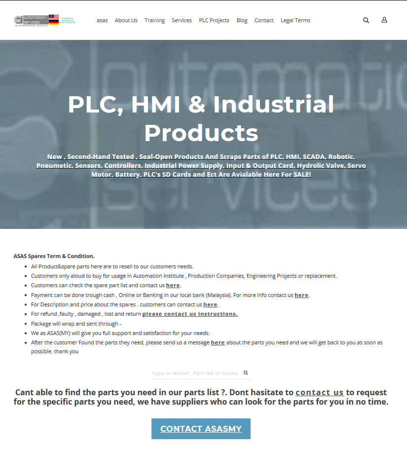 PLC, HMI & Industrial Products list is available NOW  - PLC